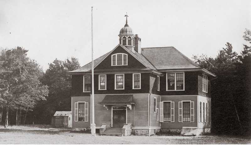 Old School House, located at current site of Tobyhanna Elementary Center on Old Sullivan Road.