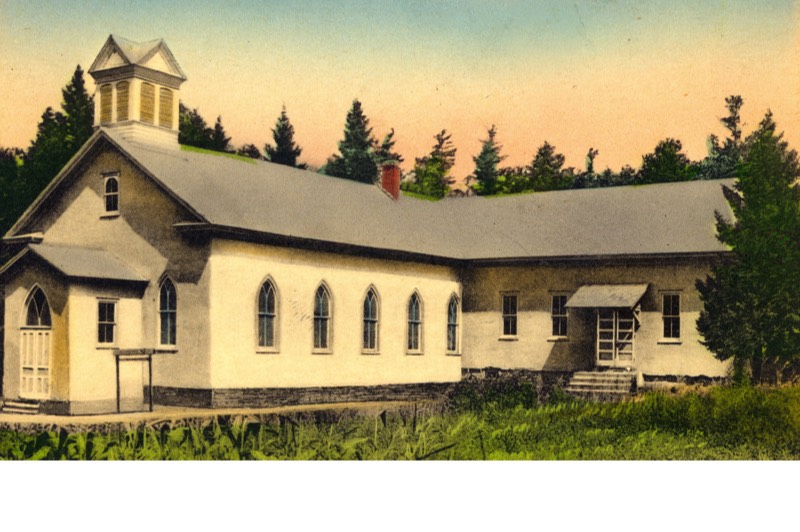 Salem Reformed Church in Pocono Pines, now known as Salem United Church of Christ, is located on Old Sullivan Road.